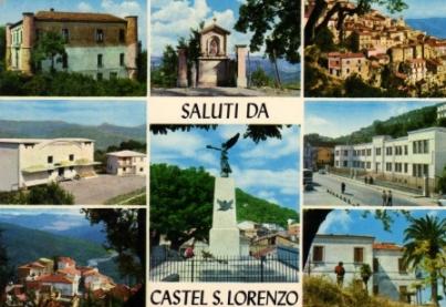 Cartolina Castel San Lorenzo