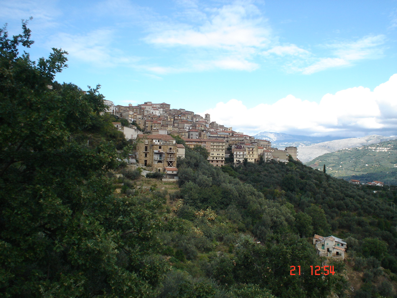 castel san lorenzo panorama
