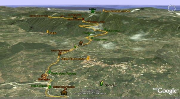 trekking-a-cavallo_percoso montagna